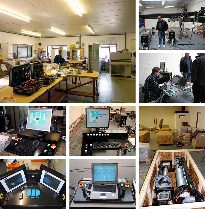 Kirbys AFX automation facilities in the West Midlands